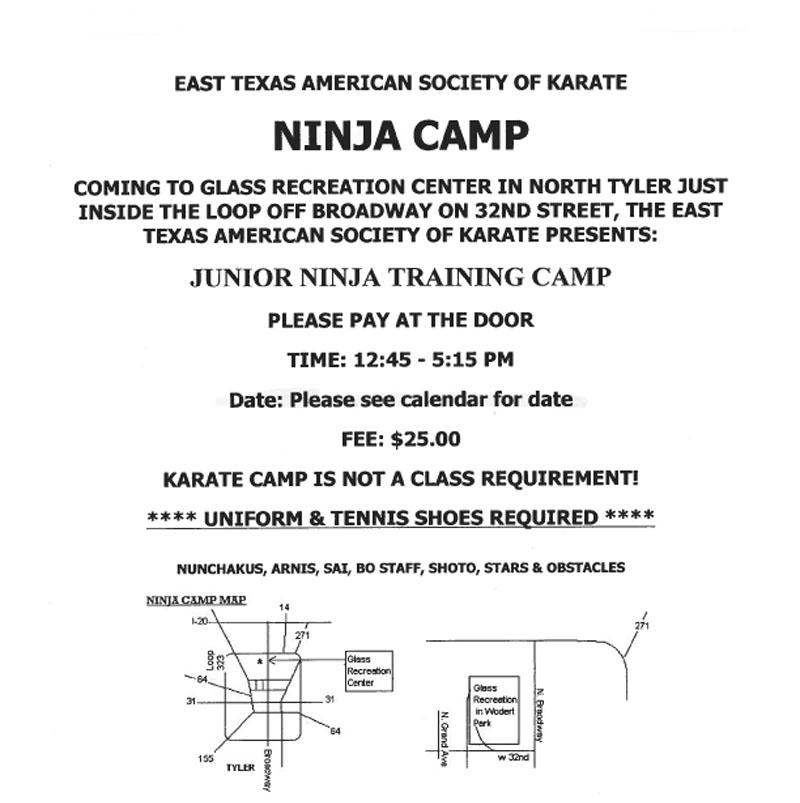 Numja Camp Home Page